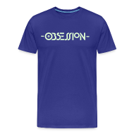 T-Shirts ~ Men's Premium T-Shirt ~ Obsession Glow in the Dark T-shirt