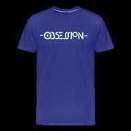 T-Shirts ~ Men's Premium T-Shirt ~ Obsession Glow in the Dark T-shirt