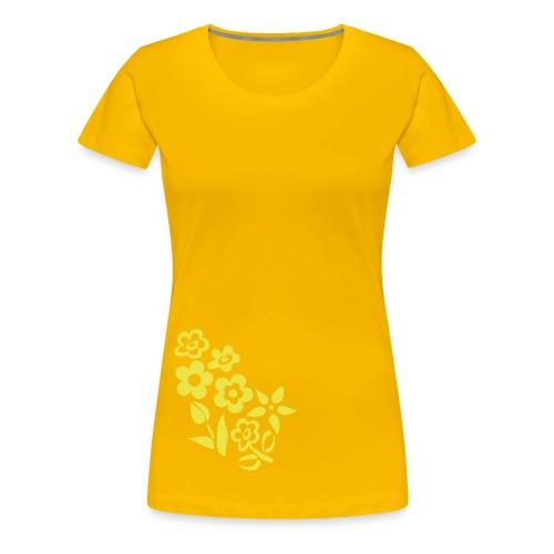 Lüdenscheid's Borussen Girly gelb - Frauen Premium T-Shirt