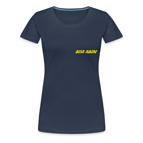 T-shirt navy blue - Frauen Premium T-Shirt