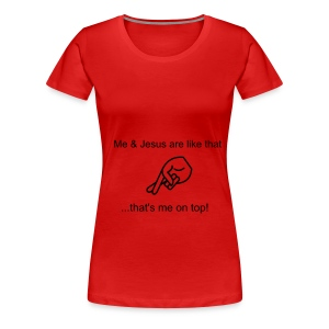 That's me on top! - Women's Premium T-Shirt