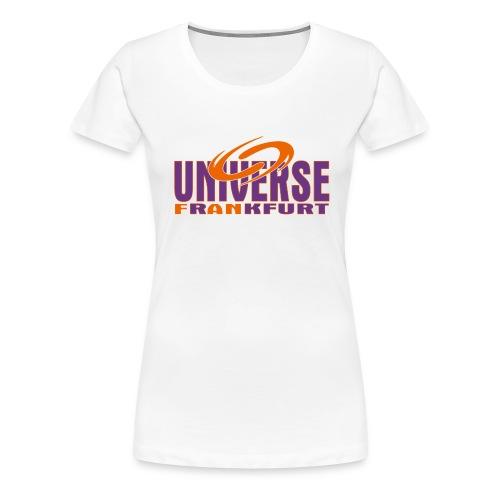 Universe Girlie Weiss - Frauen Premium T-Shirt