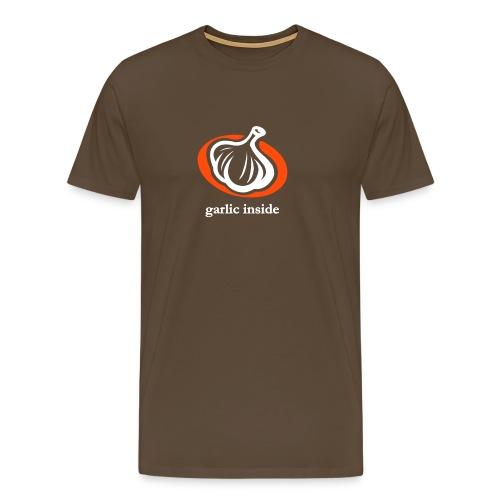Knoblauch ist toll - Männer Premium T-Shirt