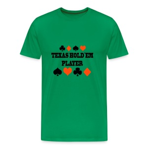 Texas Hold´em Player (Unisex) - Männer Premium T-Shirt