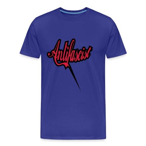 T-Shirt Antifascist - Männer Premium T-Shirt