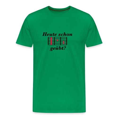Feute schon F geübt? - Männer Premium T-Shirt
