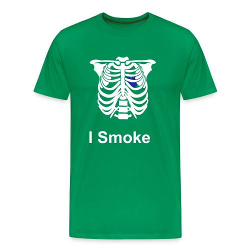 Smoke 1 - Men's Premium T-Shirt