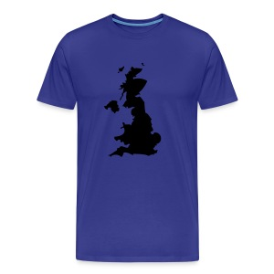 Great Britain Blue - Men's Premium T-Shirt