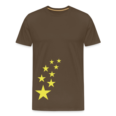 Brown Top Stars T-Shirts