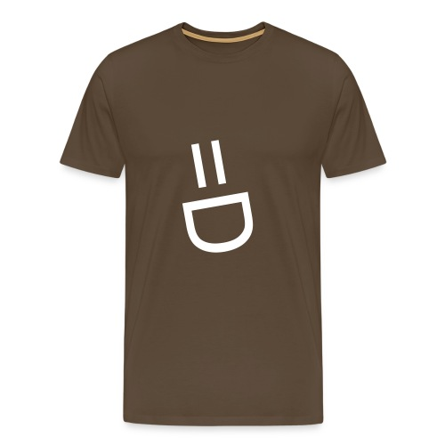 Smiley Face Tee - Men's Premium T-Shirt