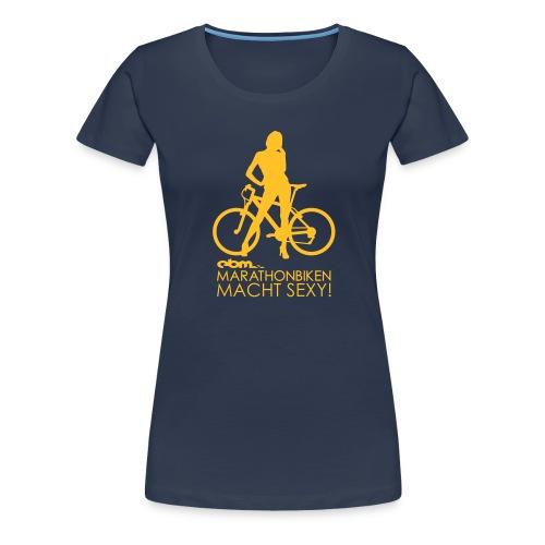 Sexy Navy Girl - Frauen Premium T-Shirt