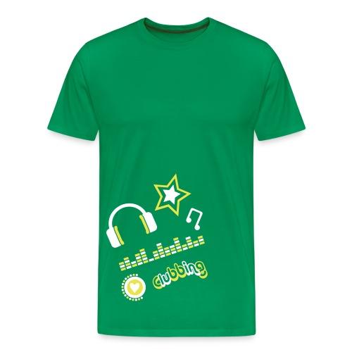 Clubbing - Men's Premium T-Shirt