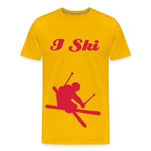 Skier's Union - Men's Premium T-Shirt