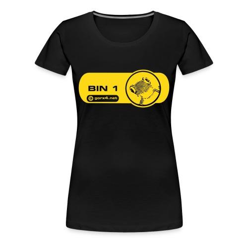 bin 1 frosch girl 2 - Frauen Premium T-Shirt