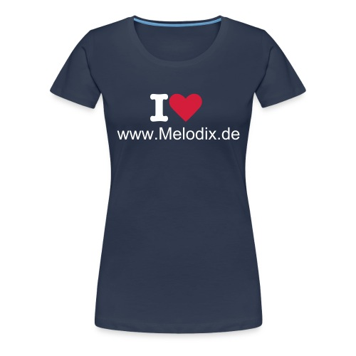 Damen T - Shirt  - Frauen Premium T-Shirt