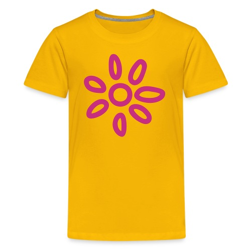 childsun - yellow - Teenager Premium T-Shirt