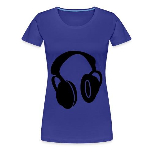 Headphones T-Shirt - Women's Premium T-Shirt