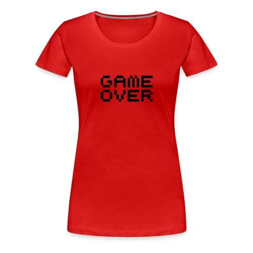 T-shirt classique Femme Game Over - T-shirt Premium Femme