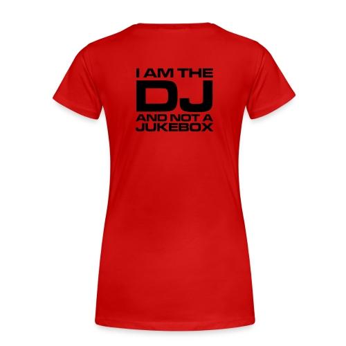 DJ Red - T-shirt Premium Femme
