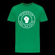 T-Shirts ~ Men's Premium T-Shirt ~ HIBERNIAN - KEEP THE FAITH (you choose the colour of this tee)