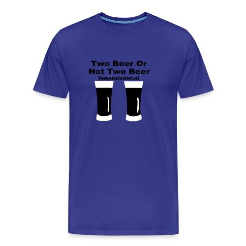 2 beer - Men's Premium T-Shirt