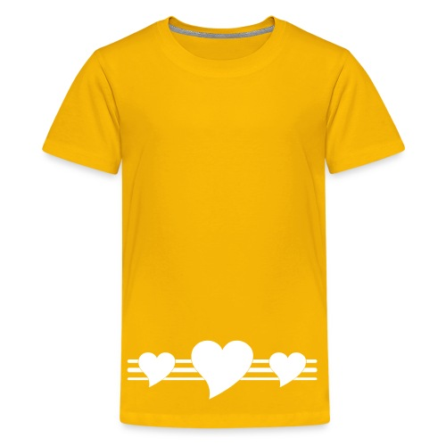 Heart - Teenage Premium T-Shirt