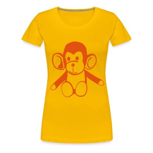 Małpeczka  - Koszulka damska Premium