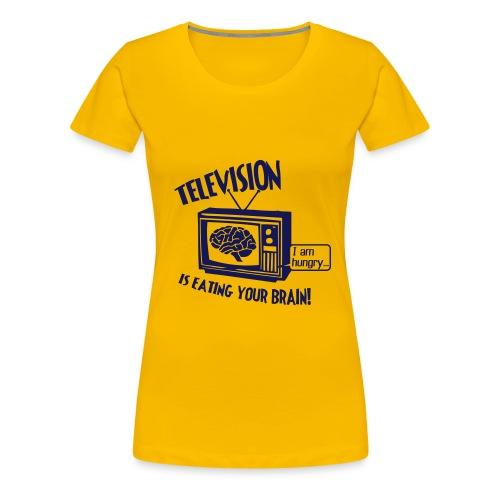 tv - T-shirt Premium Femme
