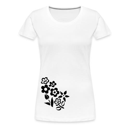 Lüdenscheid's Borussen Girly weiß/schwarz - Frauen Premium T-Shirt