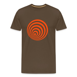 Elipse Brown Comfort T - Men's Premium T-Shirt
