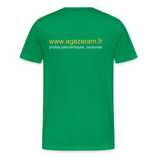 agezeram.fr simple B-Gazon - T-shirt Premium Homme