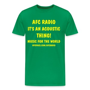 afc green - Men's Premium T-Shirt