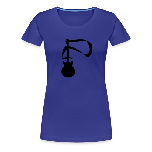 guitarist - Women's Premium T-Shirt