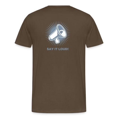 Ian Gillian Screaming - Männer Premium T-Shirt