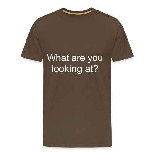 What? - Men's Premium T-Shirt