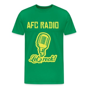 let's rock green - Men's Premium T-Shirt