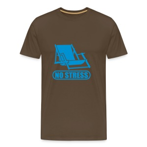 T-Shirt No Stress - T-shirt Premium Homme