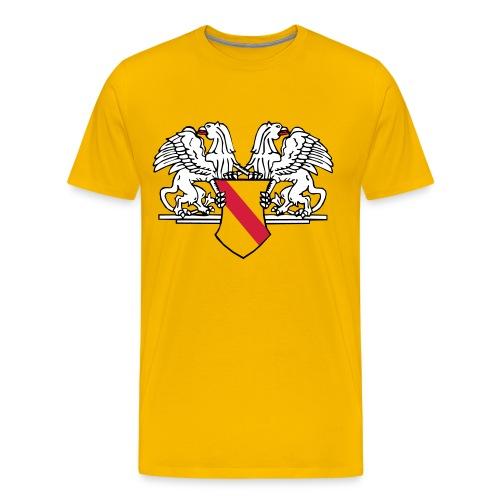 Badenwappen Männershirt - Männer Premium T-Shirt