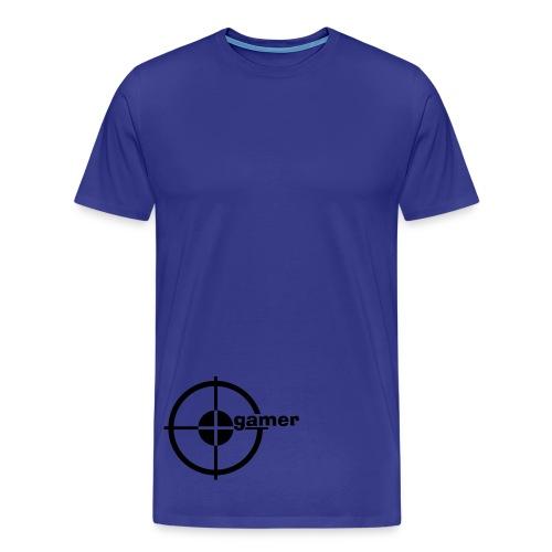 Hva ? GINA!! - Premium T-skjorte for menn