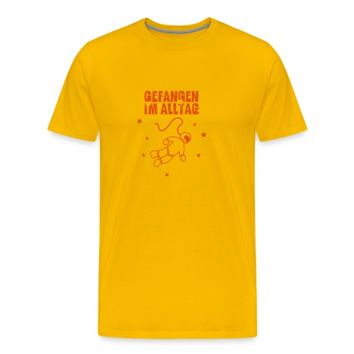Gefangen im Alltag - Männer Premium T-Shirt