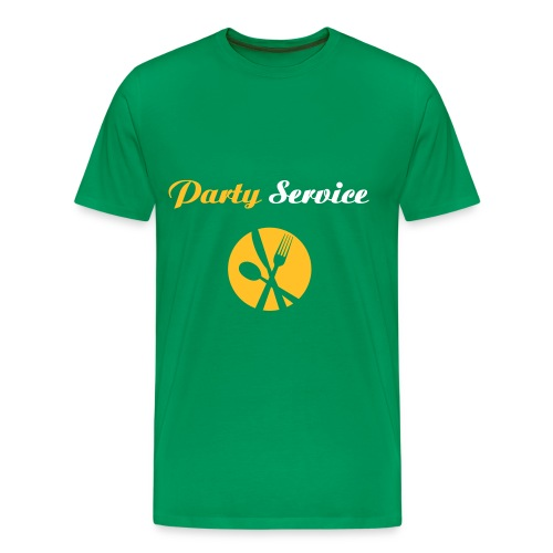 Party Service - Männer Premium T-Shirt