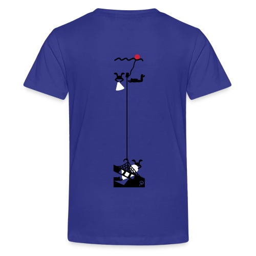T-shirt barn - Premium-T-shirt tonåring