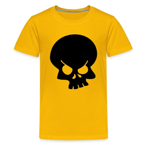 Asbo gear - kids T-shirt yellow - Teenage Premium T-Shirt