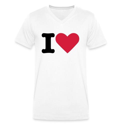 Test 1 - T-shirt bio col V Stanley & Stella Homme
