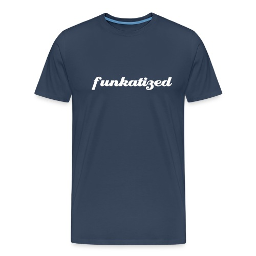 Funkatized - 3XL - Blue - Men's Premium T-Shirt