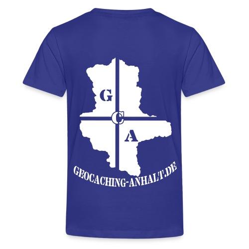 Kinder-Shirt blau - Teenager Premium T-Shirt