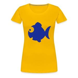 Rybka - Koszulka damska Premium