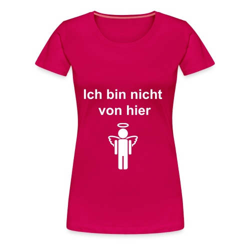 Angel pink - Frauen Premium T-Shirt