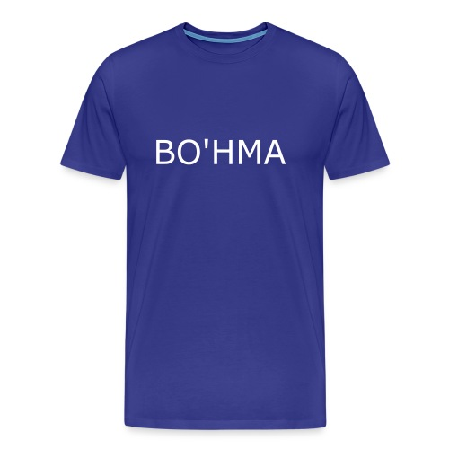 Men's Premium T-Shirt - The world's most famous initials, those who don't ask...know! Cute lil sleeve print too, in case someone's eyeing you up from the side as your bicep and pecs muscles bulge out of this sumptuous cotton top you horny bastard!
