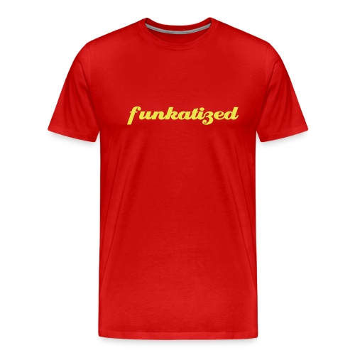 Funkatized - 3XL - Red - Men's Premium T-Shirt